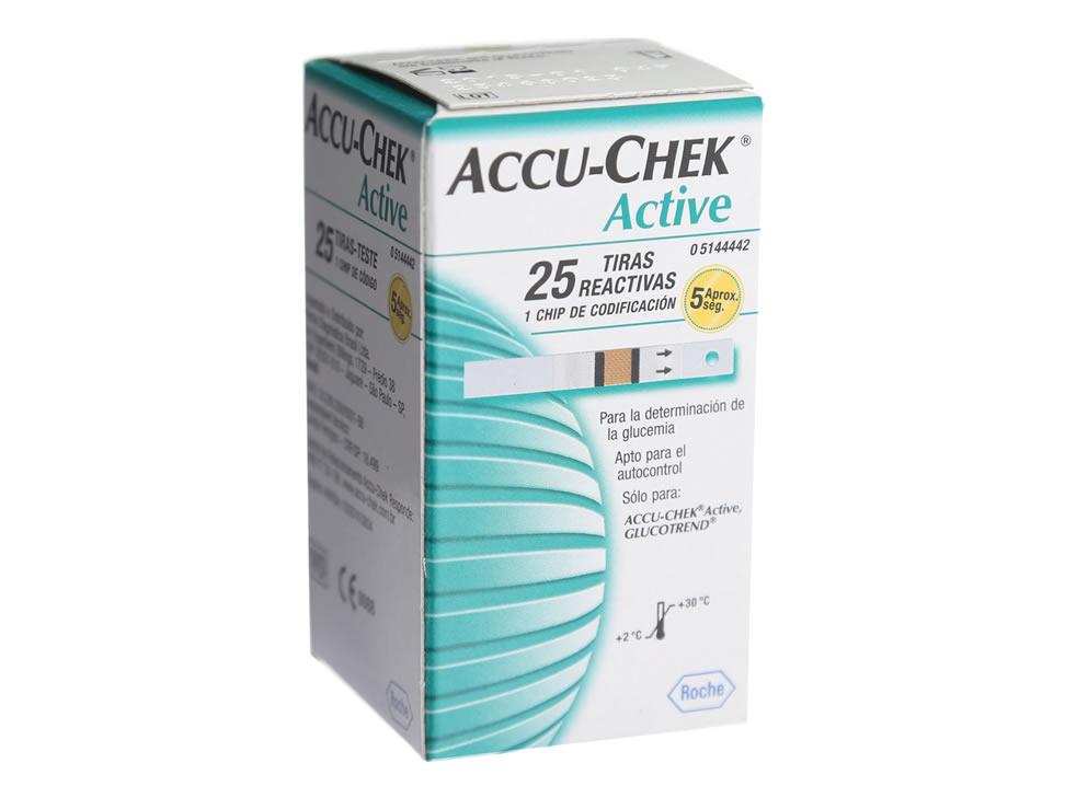 Tira de chek activa de Accu