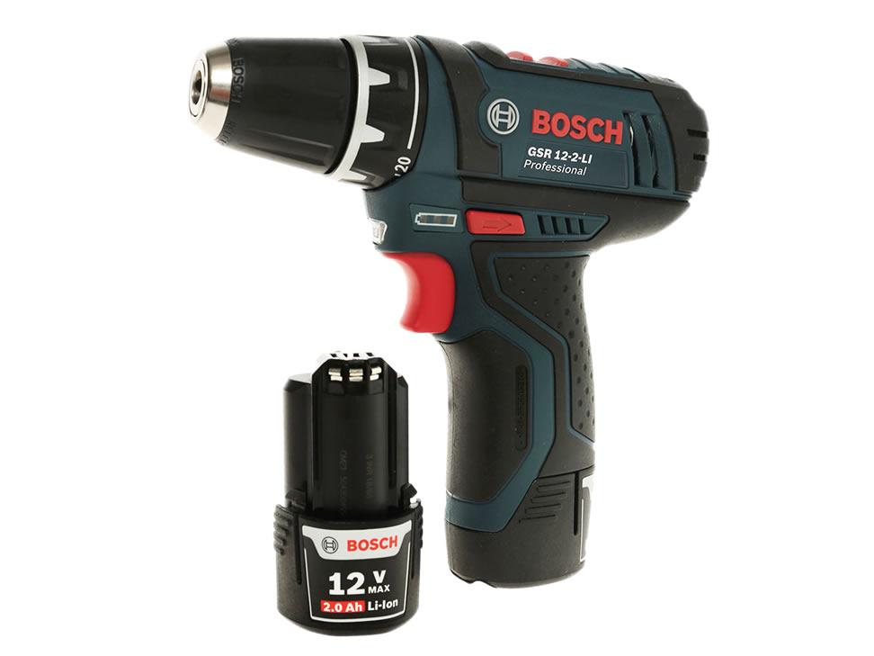 Comprar taladro atornillador bosch 18 volts gsr 12 2 li - Taladro bosch precio ...